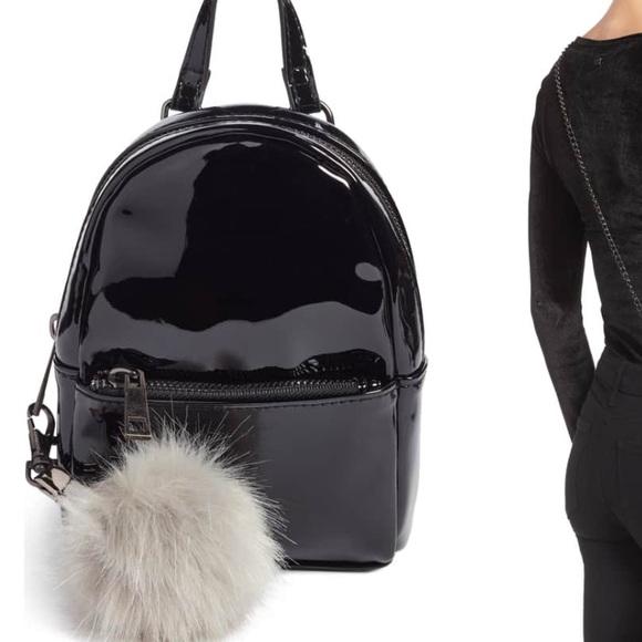 753b549830e5 Nordstrom Bp patent mini backpack crossbody. M 5b7f5beb8158b5836e53eef5
